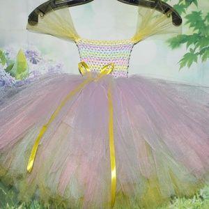 Other - Multi Bright Butterfly TUTU dress